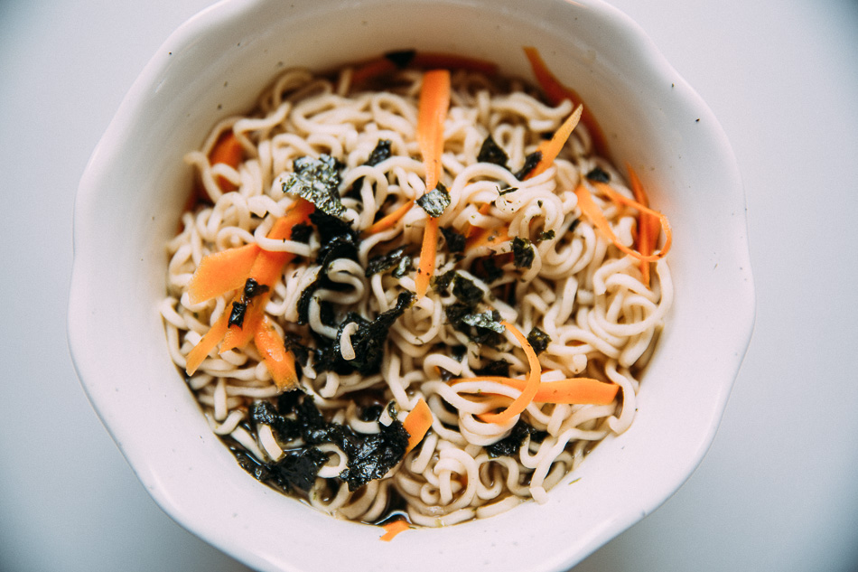 Veggie Ramen // livelovesimple.com