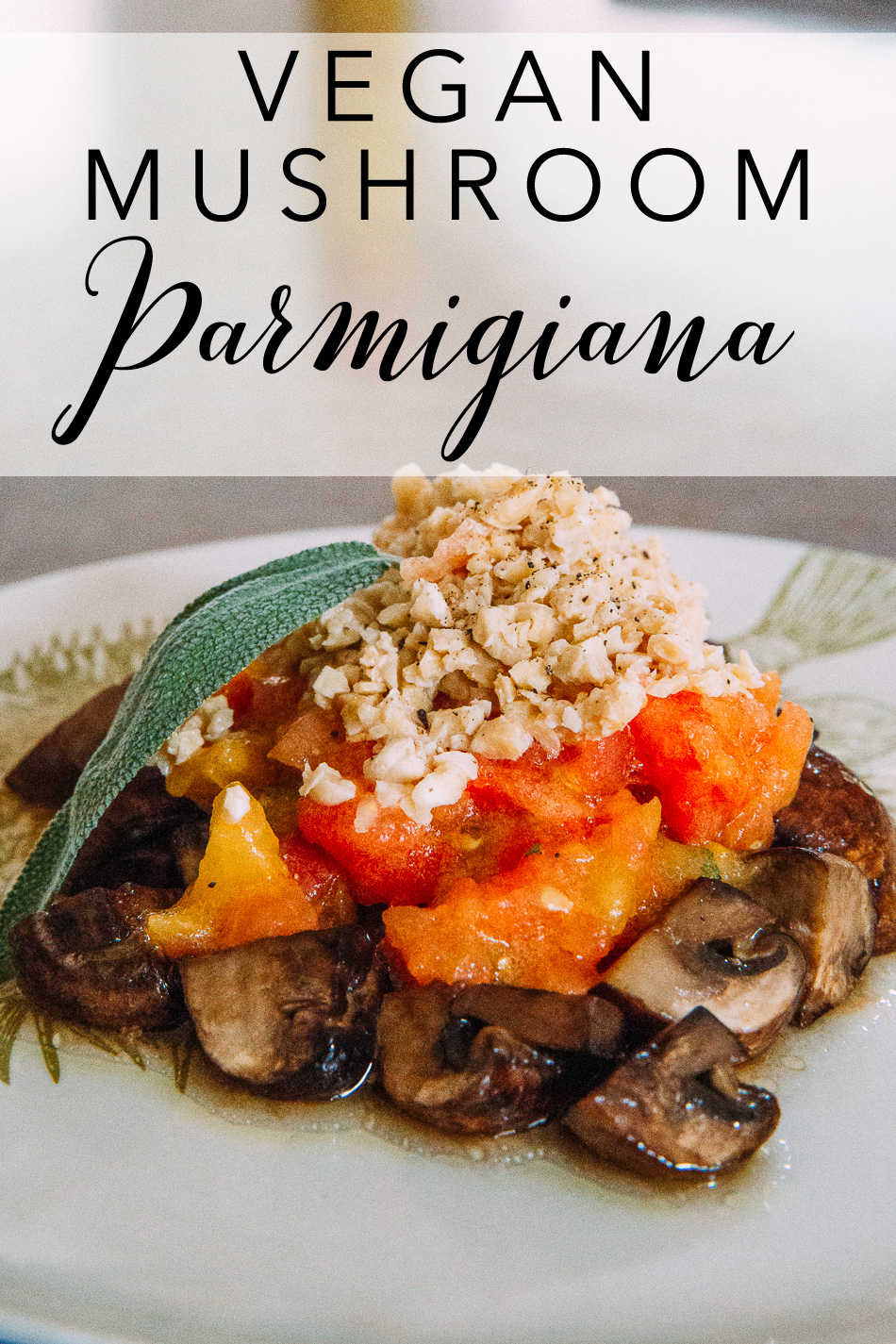 Vegan Parmigiana // livelovesimple.com
