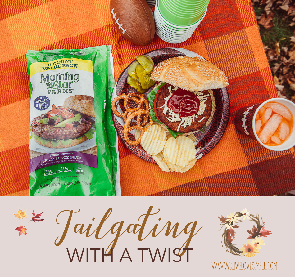 Tailgating with a Twist // livelovesimple.com