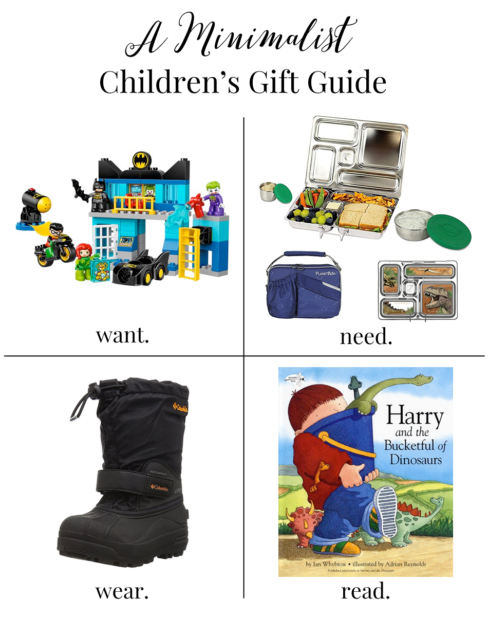 Minimalist Children's Gift Guide
