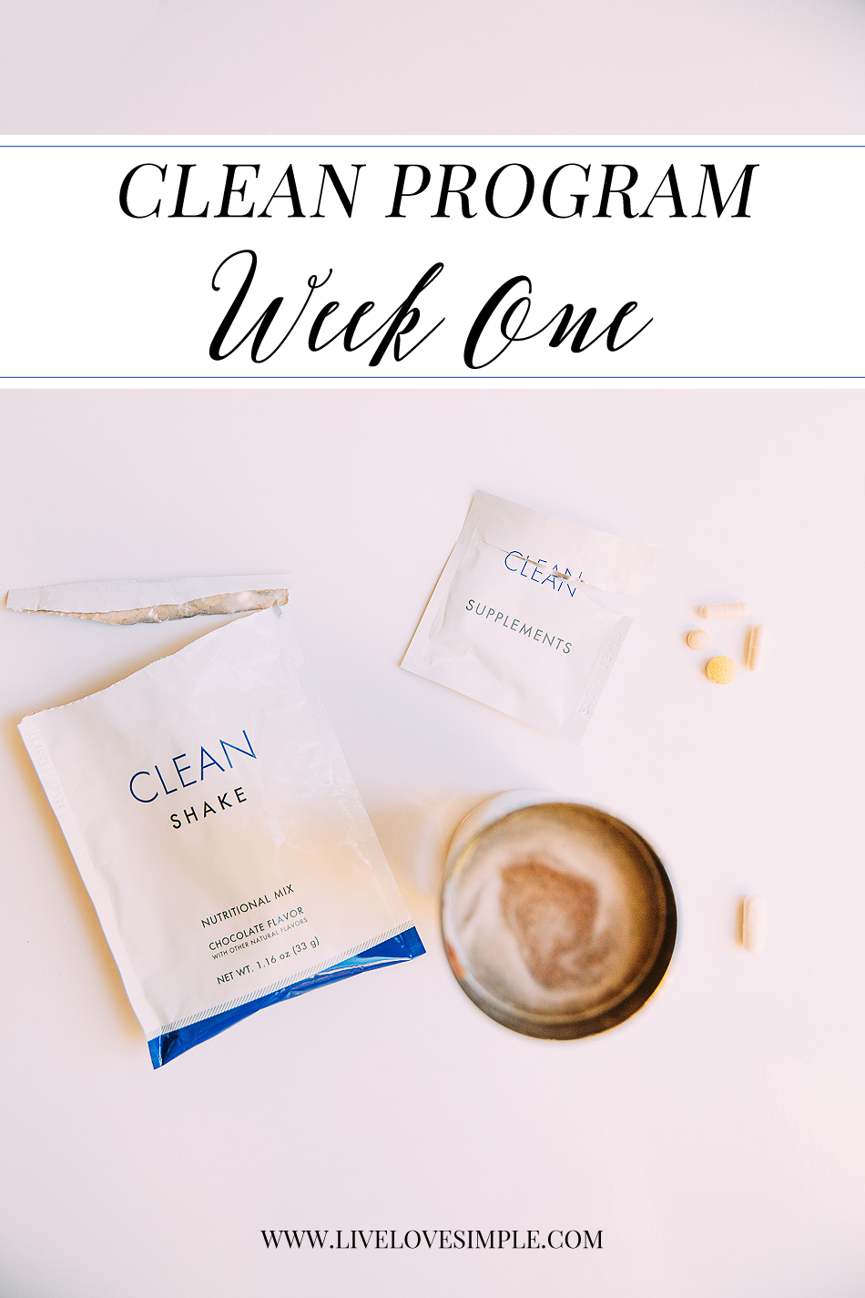 Cleam Program // livelovesimple.com