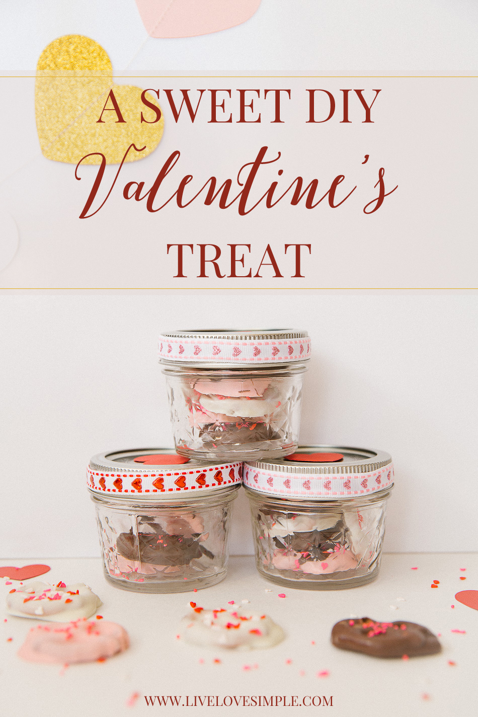 Valentine's DIY // livelovesimple.com