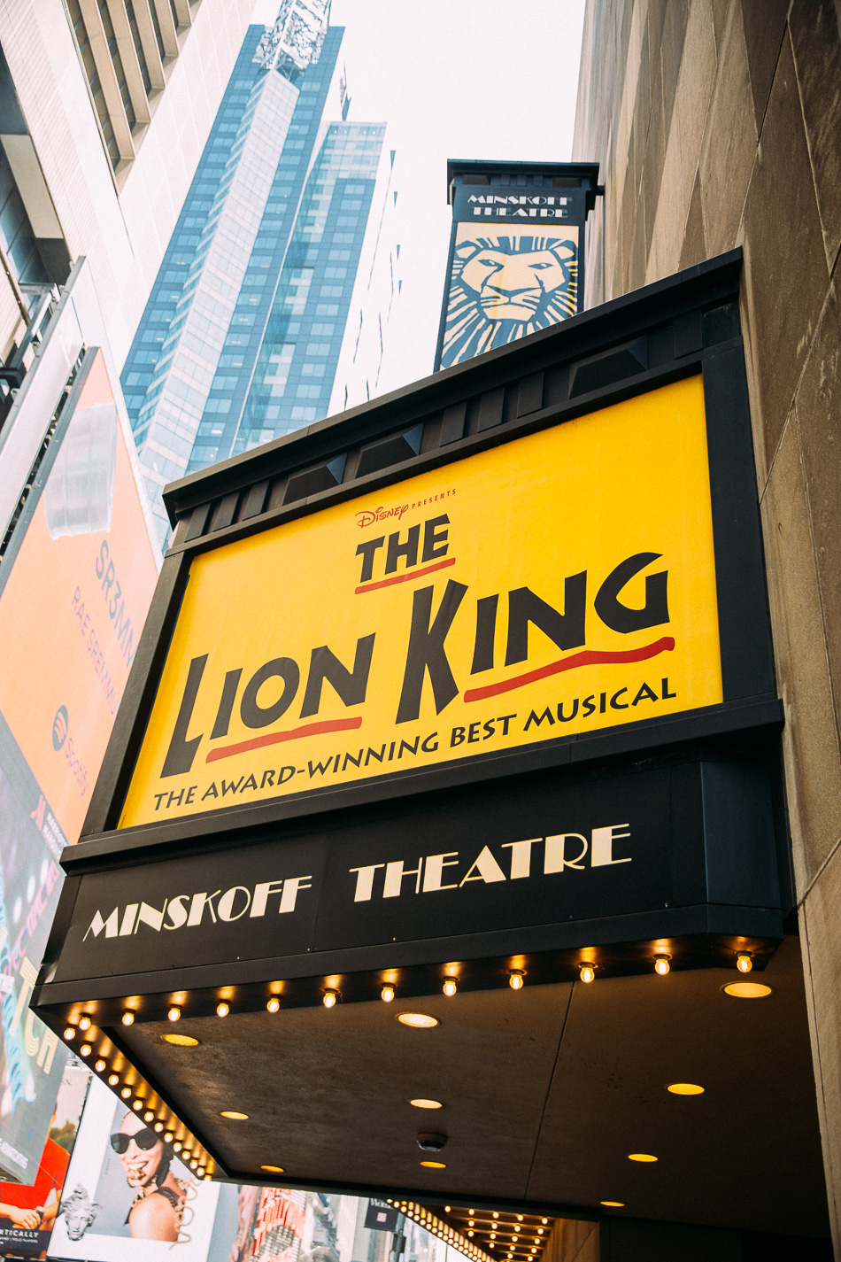 NYC & Lion King on Broadway