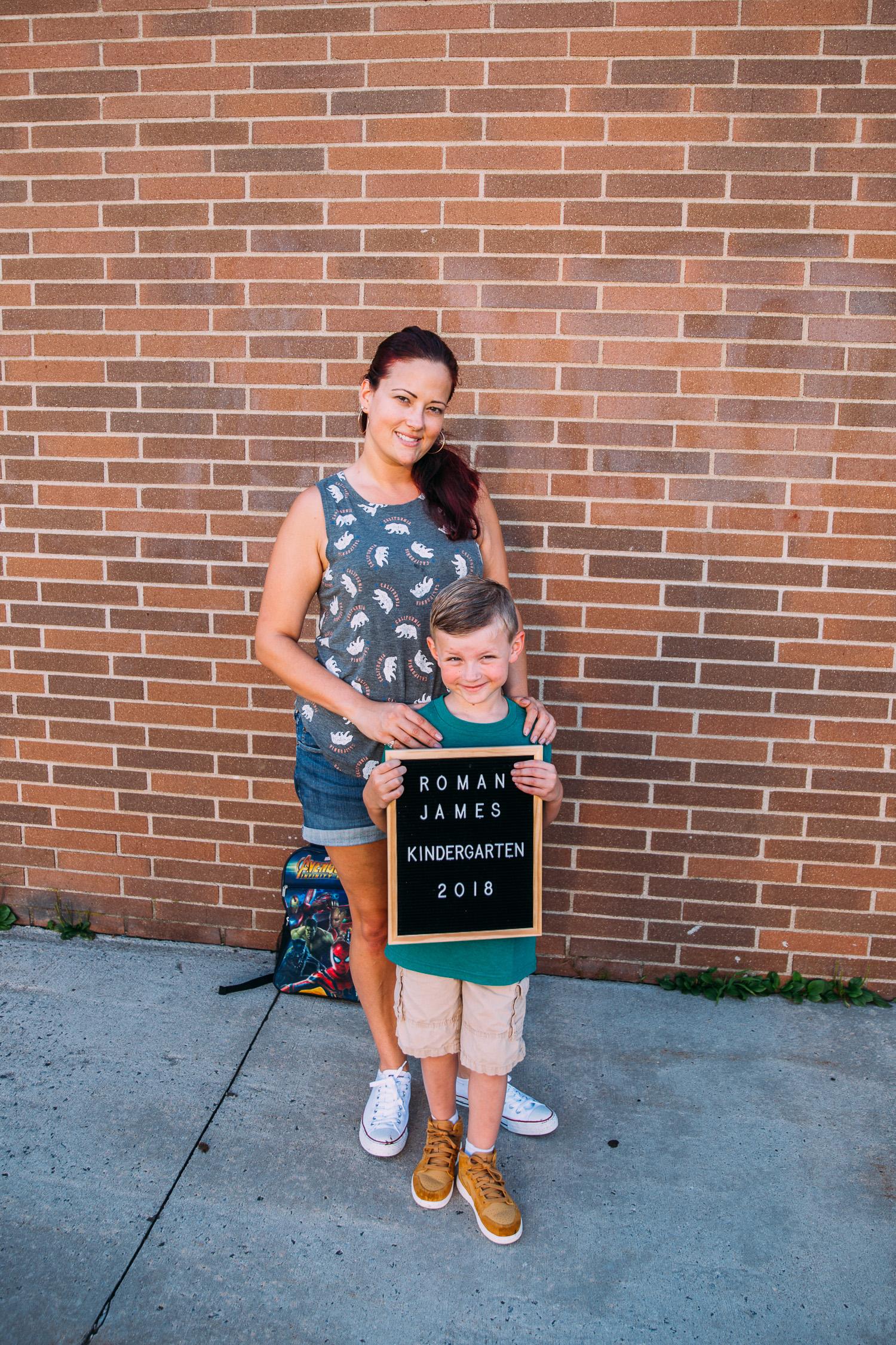 Roman Starts Kindergarten
