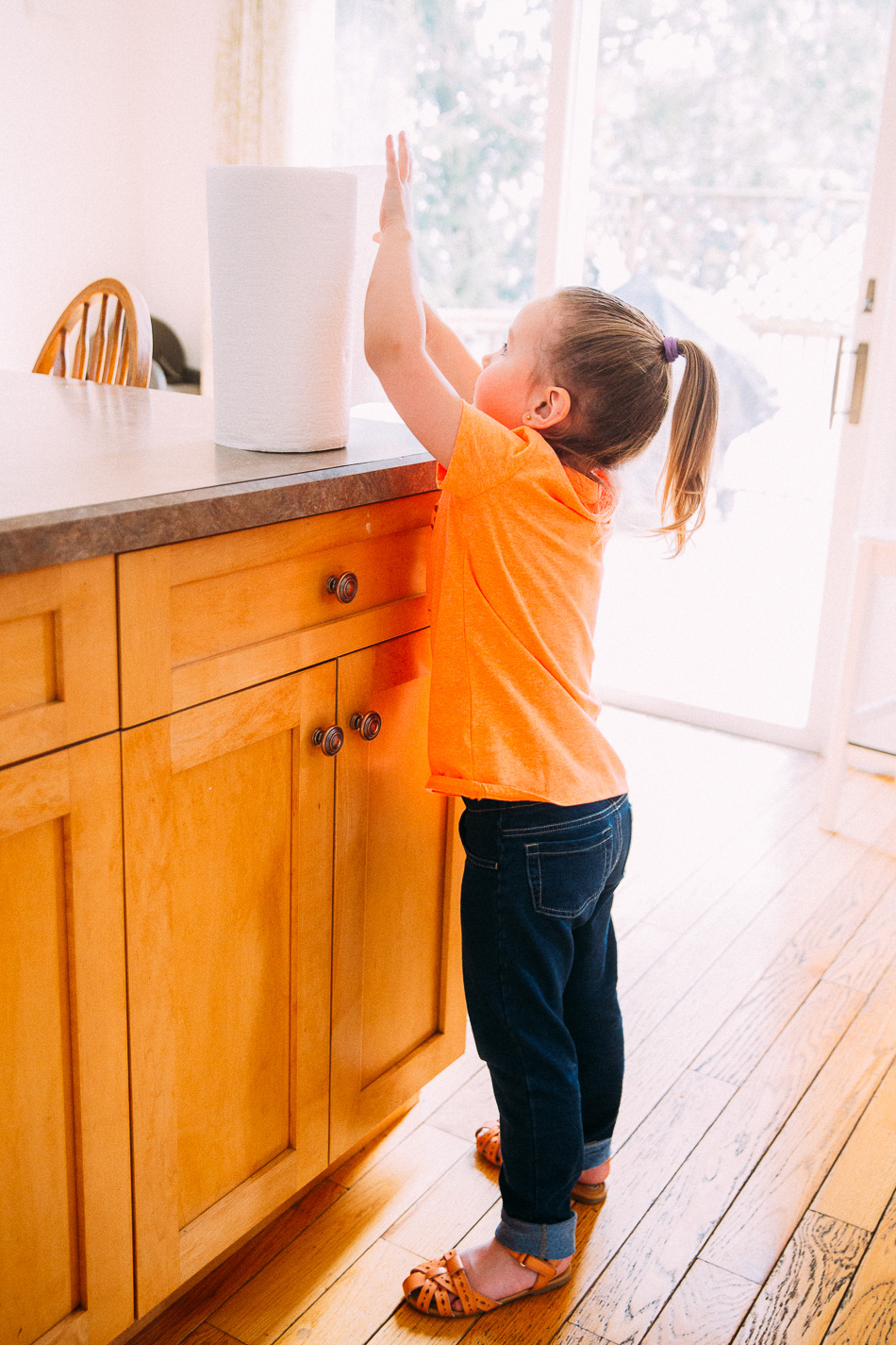 Keeping Little Hands Clean