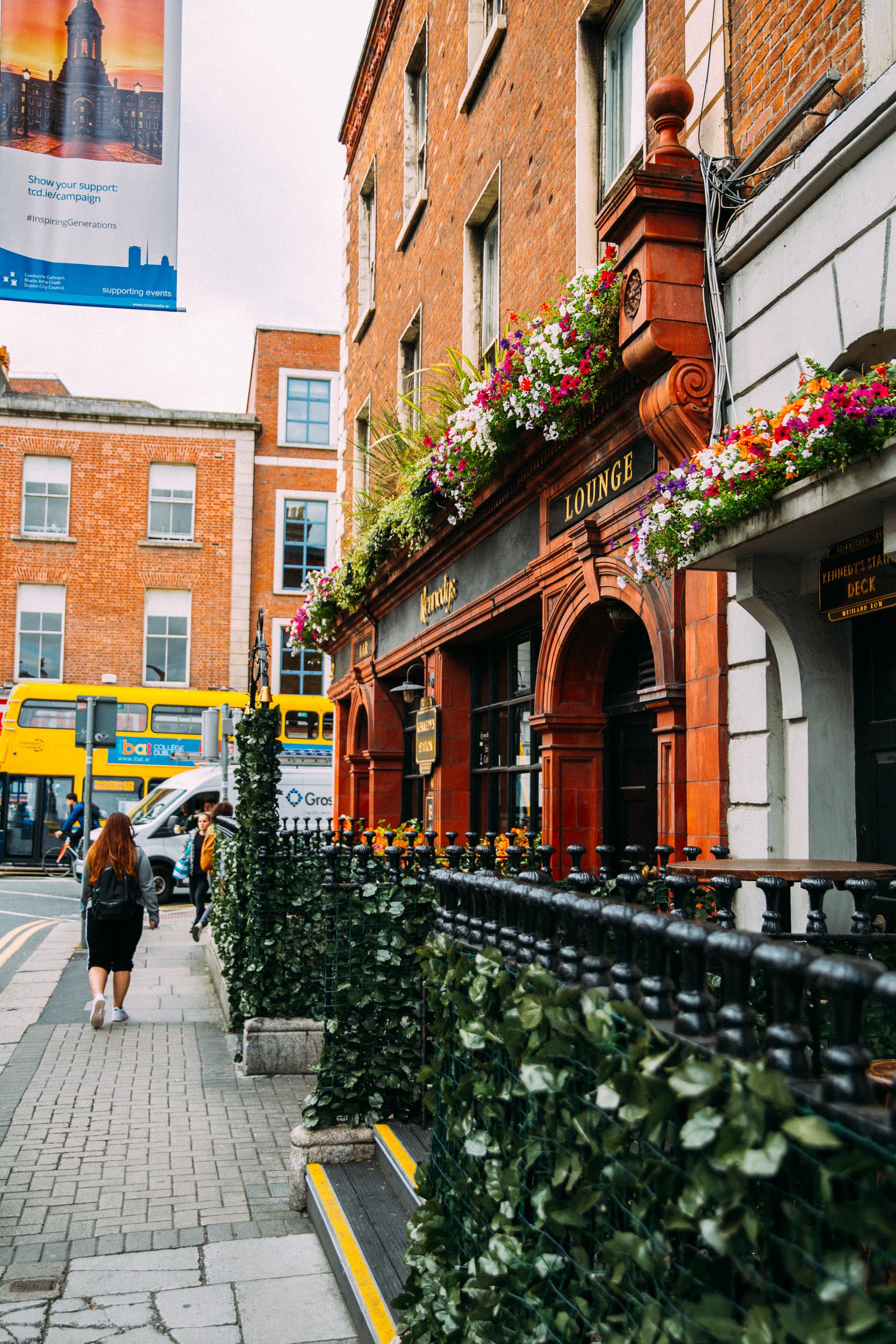 Visiting Dublin Ireland