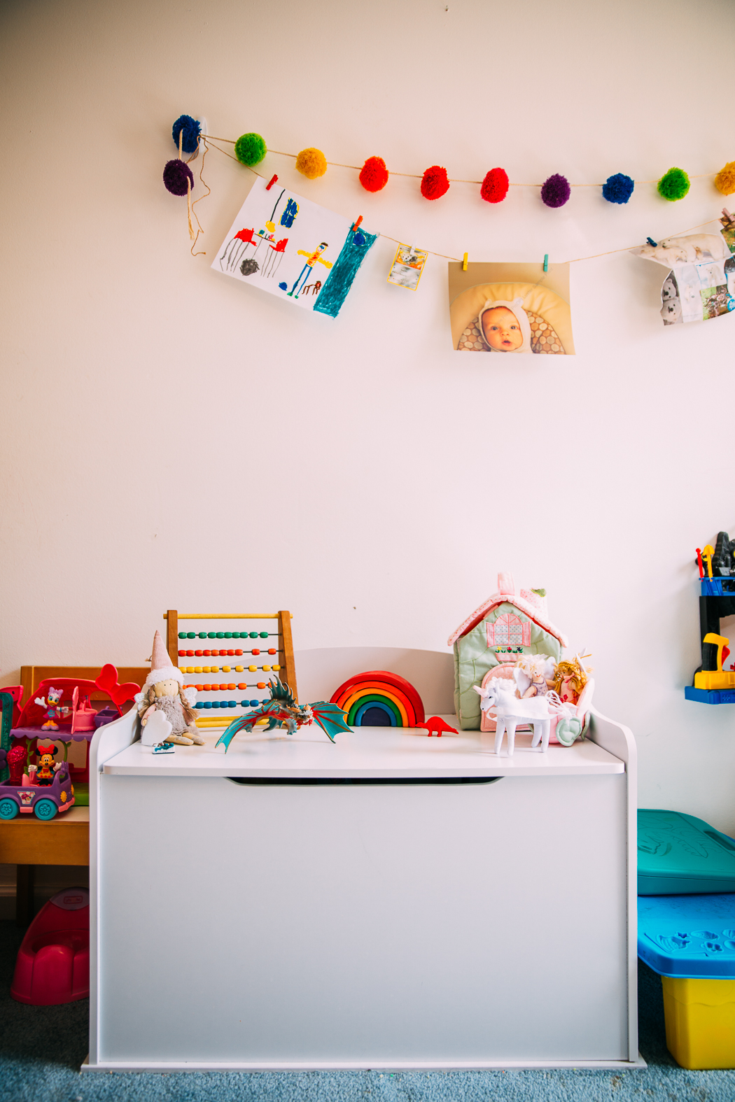 crowded kids bedroom