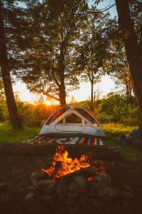 camping in Harriman