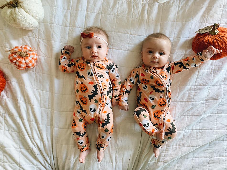 Twins 1st Halloween